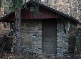 7 Acres with Authentic Log Cabin