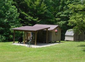 Modest cabin with pond on 12 Acres – Hart County, KY