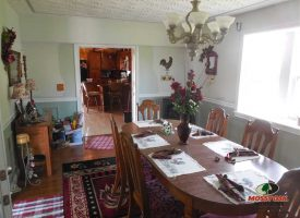 131 acres of row crops and home