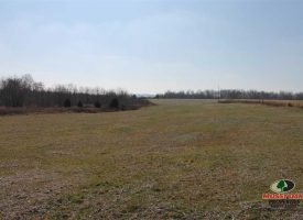 25 acres of crops and wooded wetland